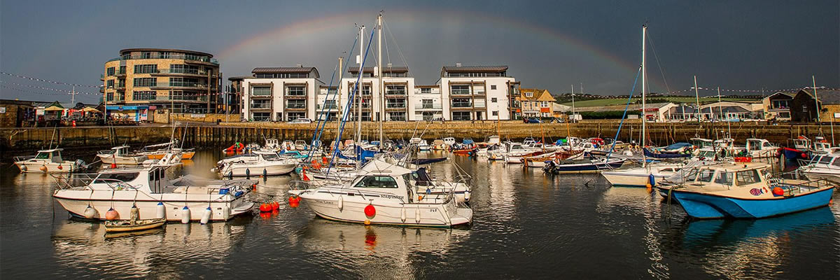 West Bay by Neil Barnes